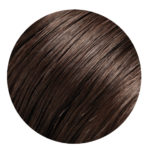 Dark brown hair extension type