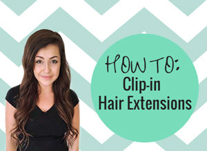 The best way to clip in hair extensions how to clip in hair extensionsheader pmusecretfo Images