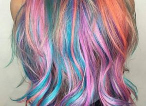bright color hair