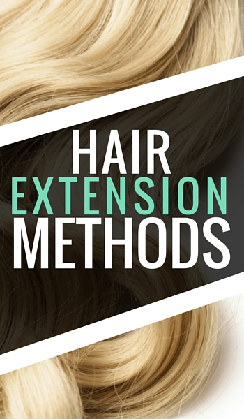 Hair Extension Methods Ad