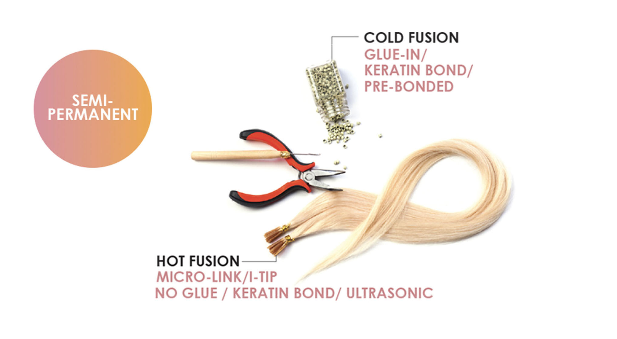 Hair Extension Methods Best Hair Extensions Hem